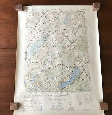 Topographical Map of Newton East N.J.1949 USC&GS Army Corps Engineers 22x29