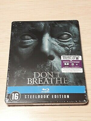 Blu ray steelbook DON'T BREATHE neuf sous blister VF