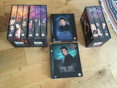 Job Lot Angel and Buffy Videos and Dvds
