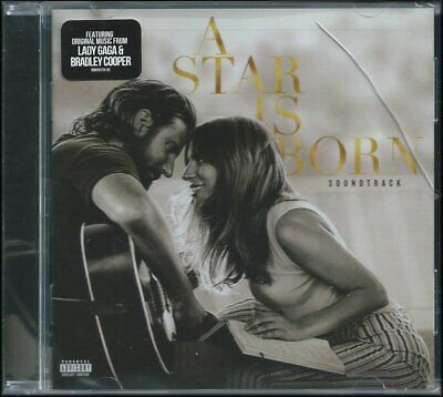 NEW! - A Star is Born Soundtrack (Explicit) Lady Gaga - CD - FREE SHIP!  Cracked