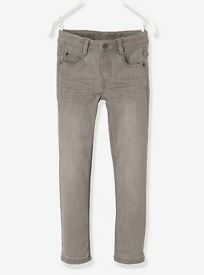 Vertbaudet Narrow Fit Slim Cut Jeans Grey Age 3 Years TD181 BB 19