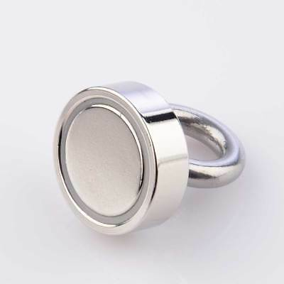 55KG Super Strong Metal Detect Neodymium Fishing Magnet D36mm Recovery Salvage
