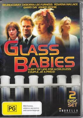 Glass Babies - 2 Disc Set -  New Dvd Free Local Post