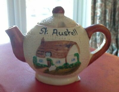 St Austell Small Vintage Manor Ware Teapot .