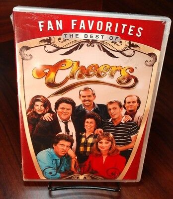 Fan Favorites: The Best of Cheers (DVD,2012, 8 Episodes)NEW(Sealed)Free Shipping