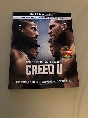 Creed 2 II 4K Blu Ray SLIP COVER ONLY