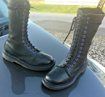 51e15937b2ac9 Vintage Dr Martens 1914 black leather boots UK 5 EU 38 Made in England