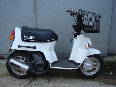 Honda Squash Mini Scooter - White - 1982 - Upgraded engine and wheels fitted