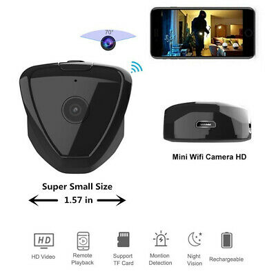 Mini Nascosta Spia Full HD Telecamera IP Wireless Wifi Spy Video Micro Camera DV