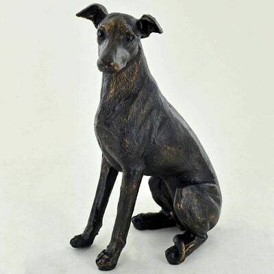 Bronze Greyhound Sculpture Statue Dogs Gifts Figures Ornament Figurine