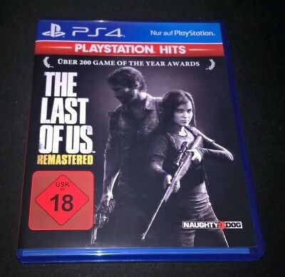 The Last of Us Remastered PS4 PlayStation 4 Hits in OVP Hülle neuwertig