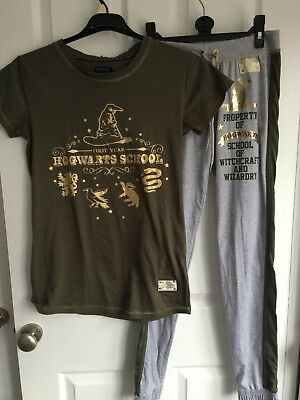 Harry Potter Women/'s Pyjamas Nightie Night Tshirt Gryffindor Primark Hogwarts