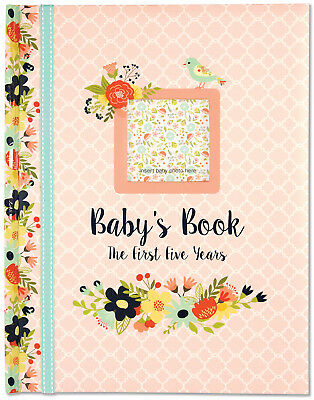 Peter Pauper Press Baby's Book First 5 Years Photo Album Memory Record Scrapbook