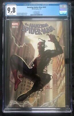 AMAZING SPIDER-MAN #800 CGC 9.8 InHyuk Lee trade dress symbiote variant MARVEL