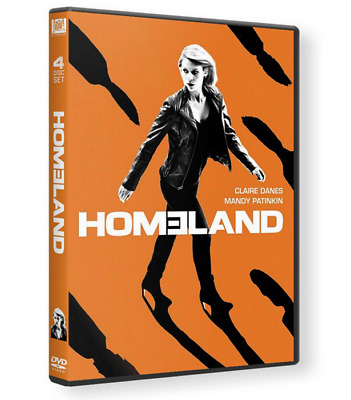 HOMELAND Staffel 7 Season sieben - 4 Disc DVD Set - Ton: DEUTSCH NEU & OVP Top!