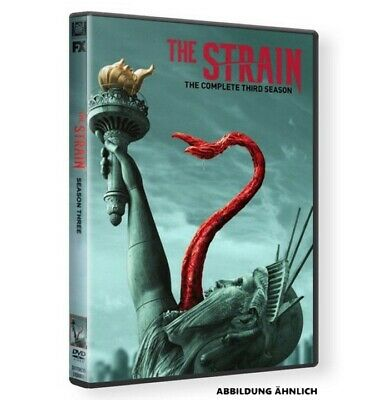 THE STRAIN Season 3 Staffel drei - 3 x DVD Ton: DEUTSCH Neu & OVP TOP!!