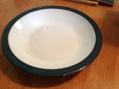 Denby Greenwich soup/cereal/dessert bowl/plate,21cm with rim,lovely condition,