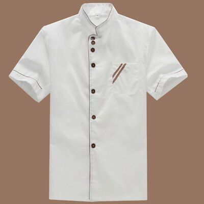 1 pc Chef Uniform Basical Catering Shirt Chef Jacket for Bakery Hotel Restaurant
