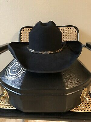 c9098c0ad2a8f Custom Cowboy Hat 100 % Beaver Double H Hat Company With Horse Braid Band