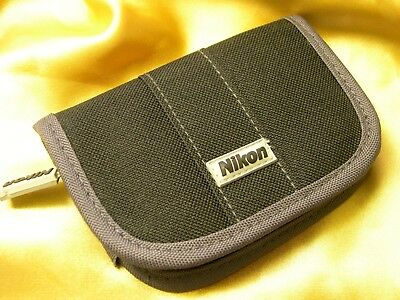 Nikon CF/SD memory Card Case - Excellent unused condition & rare !