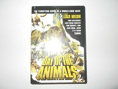 Day of the Animals DVD Leslie Nielsen HORROR Shriek Show