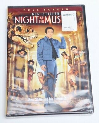 Night at the Museum (DVD, 2009, Full Screen) New Factory DVD FREE SHIPPING