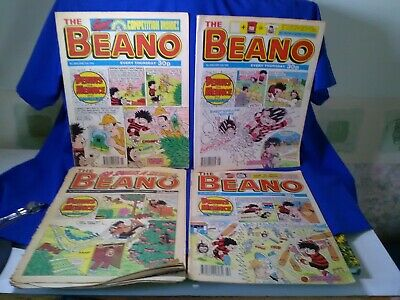 BEANO COMICS from the 1990s Vintage Collectable job lot