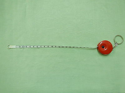 "Tape Measure Retractables Red 55""/140cm Imperia/Metric"