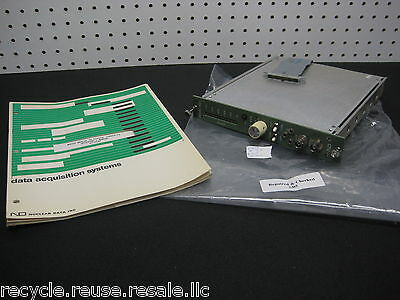 ND ND580 ADC Nuclear Data ANALOG TO DIGITAL Converter w/ Manual *READ INFO* #2