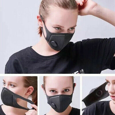 1PC Air Purifying Face Mask Cover Anti Dust Multi Layer Haze Mouth Muffle Filter