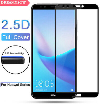 3D Full Cover Real Tempered Glass Screen Protector For Huawei P Smart 2019 DO