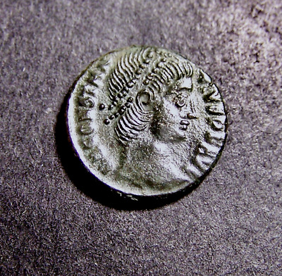 CONSTANTIUS II Vows to Gods & People, 30 Years?, Imperial Roman Emperor Coin