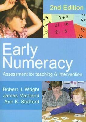 NEW Early Numeracy By Robert J. Wright Paperback Free Shipping