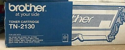 Genuine Brother  TN-2130 BLACK Toner Cartridge  A4 1500 pages