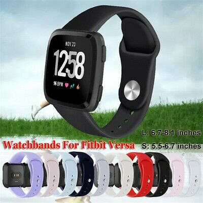 Sports Soft Silicone Band Wristbands Watchband Bracelet Strap For Fitbit Versa