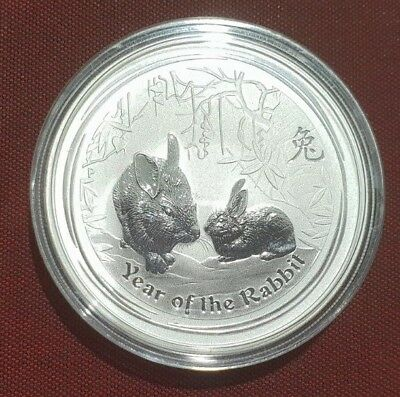 2011 Year of the Rabbit 1oz Silver Coin