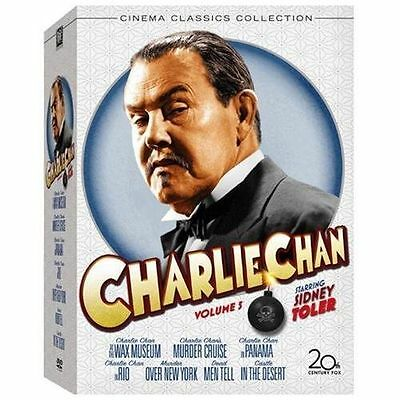 Charlie Chan Collection, Vol. 5 (Charlie Chan At The Wax Museum/Murder Over New