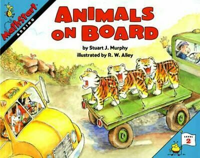 NEW Animals On Board By Stuart J Murphy Paperback Free Shipping