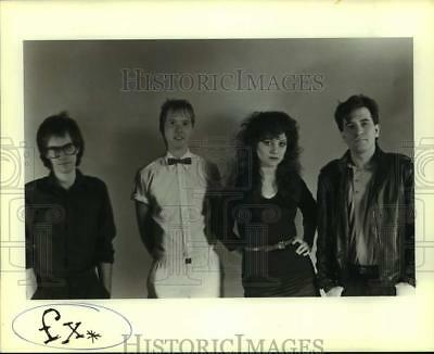 Press Photo Four Members of the band FX - sap02873