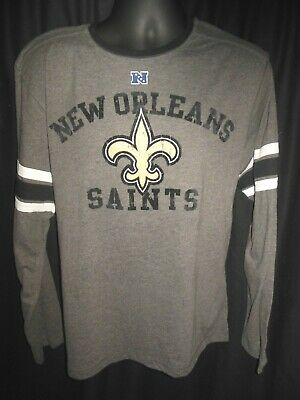 Cheap NEW ORLEANS SAINTS Mens Long Sleeve Thermal Team Nfl Shirt Pick Size