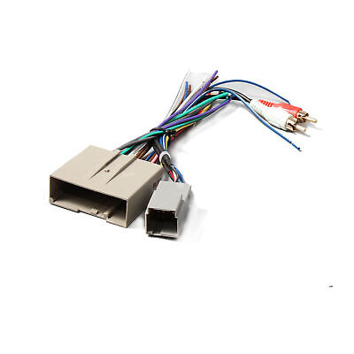 aftermarket stereo radio wiring harness adapter plug fits ford f 150
