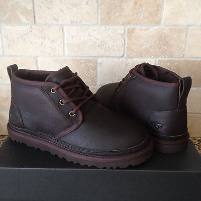 431b8aae293 UGG NEUMEL GRIZZLY Waterproof Leather Chukka Ankle Boots Size US 8 ...