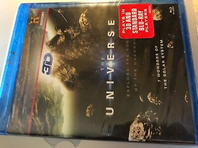 Blue Ray / 3D / DVD New Unopened  THE UNIVERSE
