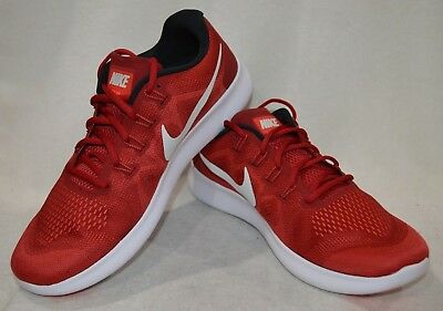 0a7014f1fae2b Nike Free RN 2017 Red White Men s Running Shoes - Assorted Sizes NWB 880839-