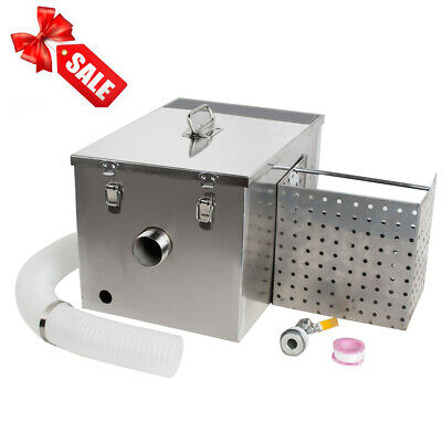 Grease Trap For Sale >> Stainless Steel Grease Trap Interceptor Set For Restaurant Kitchen Wastewater