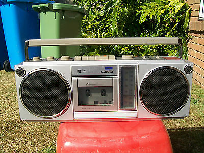 Retro National Radio Cassette Recorder