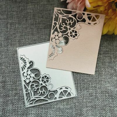 Corner Frame Cutting Dies Metal Stencil DIY Scrapbooking Album Paper Card Crafts