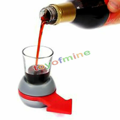 New Funny Spinner Spin The Shot Glass Drinking Game Fun Party Gift