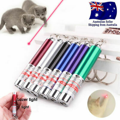 NEW Pet Dog Cat Laser Light Pen Fun Training Pointer Torch LED Toys AU SELLER @!
