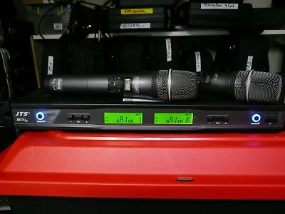 Ensemble recepteur UHF JTS IN-264/2 et un micros HF main  JTS in-264TH/